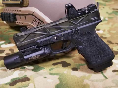 WAR AFTERBUNER MCBK G19(マルイG19ベース )