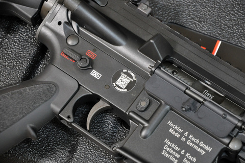 M27 IAR用 UIDアルミプレート