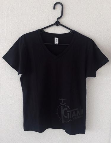 木谷秀久VネックTシャツ