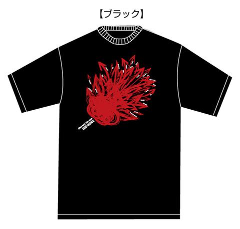 「Dive into the new」ツアーTシャツ【ブラック】