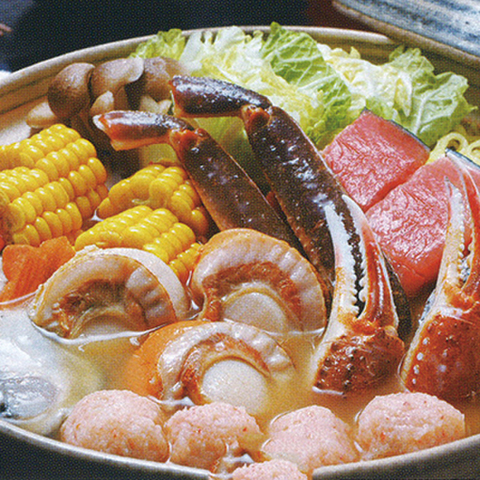 大人気!!海鮮味噌バター鍋セット