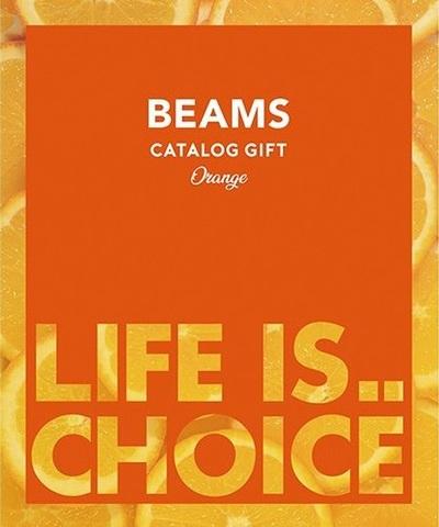 BEAMS CATALOG GIFT ビームス カタログギフト Orange オレンジ