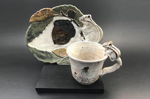 リスコーヒーカップ