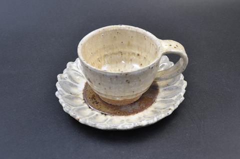 向日葵コーヒーカップ