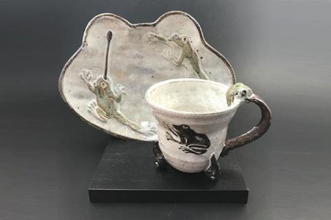 カエルコーヒーカップ