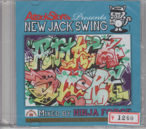 Attack Store Presents NEW JACK SWING Non Stop Mix CD