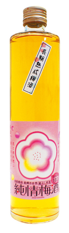 純情梅酒 長期熟成 500ml 美郷「月世界」蔵出原酒(甘口)