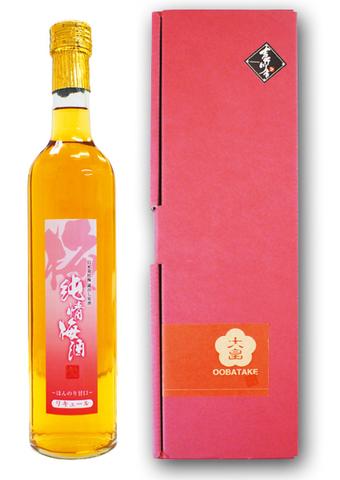 【贈答用】純情梅酒 500ml 美郷「月世界」蔵出原酒(甘口)【箱付】