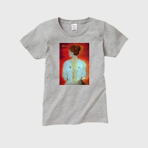 Total - Total II レディースTシャツ グレー