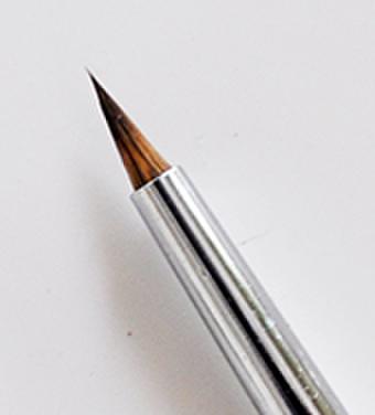 ショート軸丸筆・L