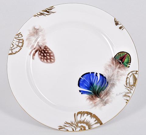 No.6鳥の羽の皿