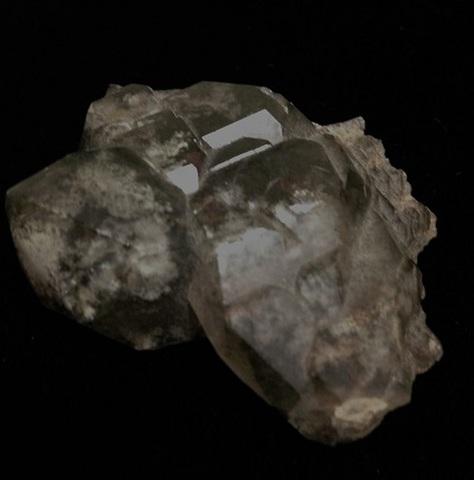 スモーキーエレスチャル水晶