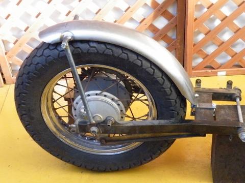 ビラーゴ250・ドラッグスター250オーバルフラットフェンダーKIT