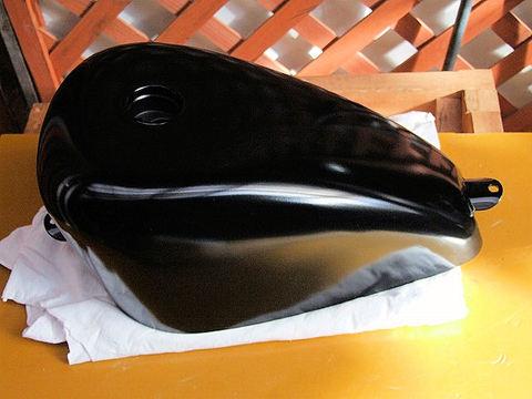 タンク 黒パウダーコティング(焼付け塗装)