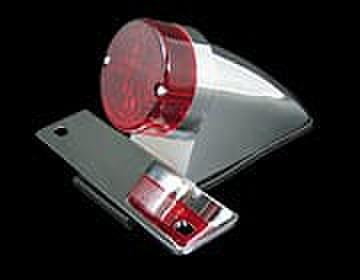 フェンダーKITのオプション ナンバー灯付きスパルトテールランプクローム