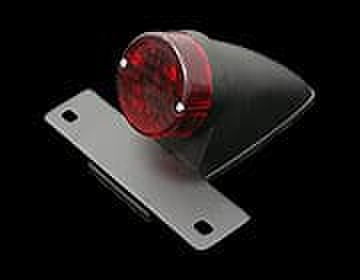 フェンダーKITのオプション ナンバー灯付きスパルトテールランプ黒