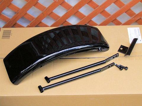 フラットフェンダーKIT 黒パウダーコーティング(焼付け塗装)