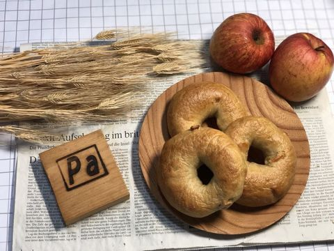 リンゴと紅茶のベーグル(3個入り)