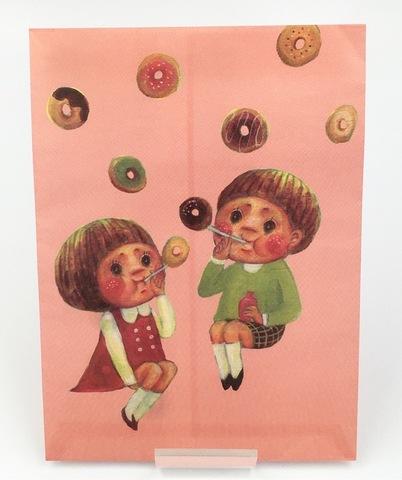 ドーナツしゃぼん紙袋(5枚入り)