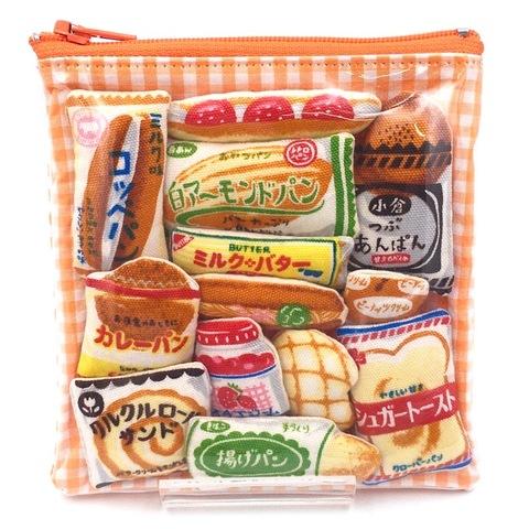 ぎゅうぎゅう菓子パンましかくポーチ