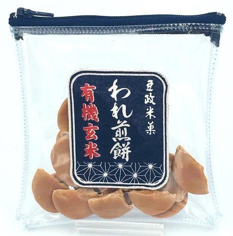 和菓子ポーチ(われ煎餅)