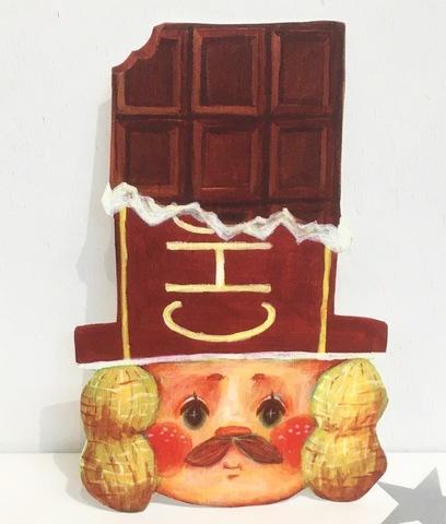 チョコレート男爵 グリーティングカード