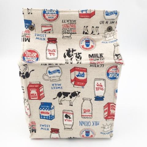 牛乳パック型ポシェット☆