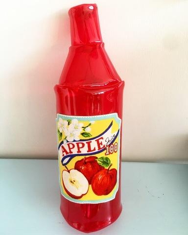 ボトル型ビニールポーチ Apple
