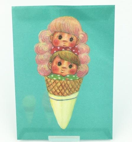 アイスクリーム紙袋(5枚入り)