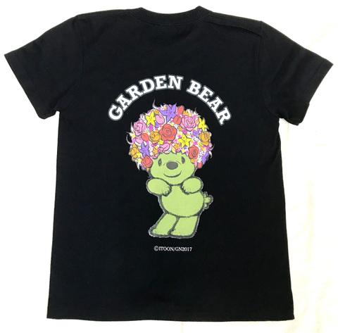GADEN BEAR Tシャツ(ブラック)