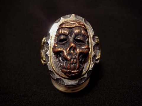 MUMMY SILVER RING