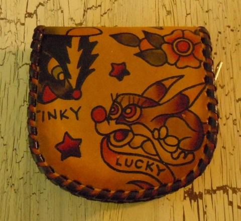 LUCKY RABBIT 馬蹄型 ZIP コインパース