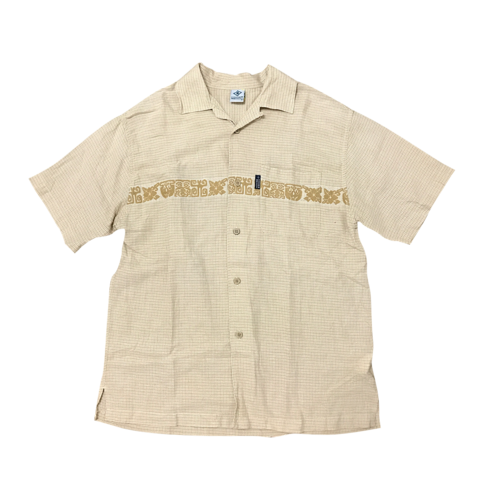 beige cross beach shirt