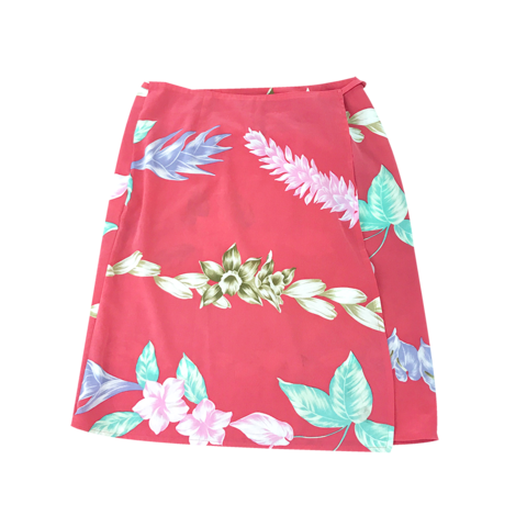Alba Rosa tropical roll skirt