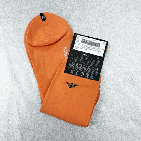 ARMANI orange socks
