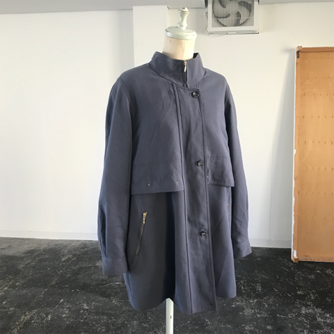 GIPLAS blue grey coat