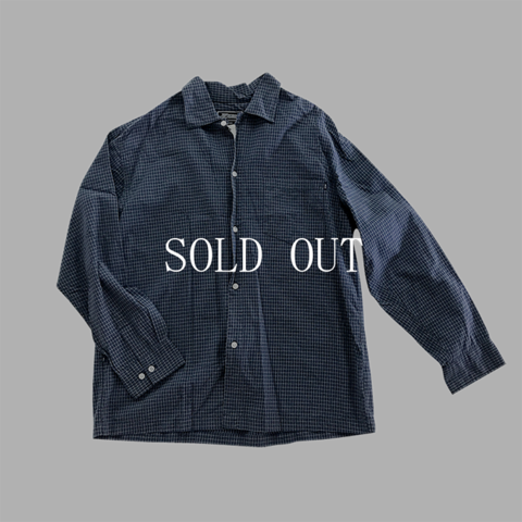 PIKO blue check shirt