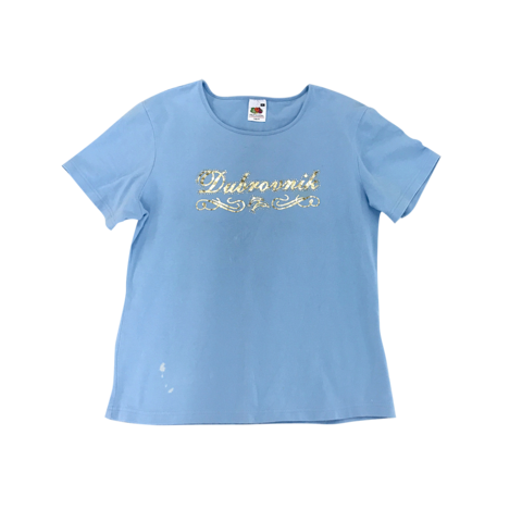 sparkle fresh blue  t-shirt