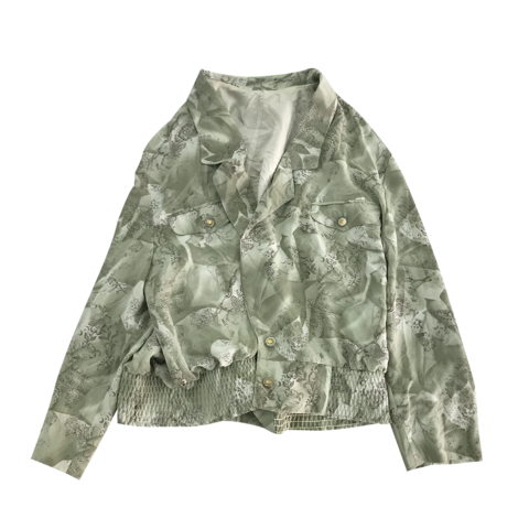 dusty green unisex jacket