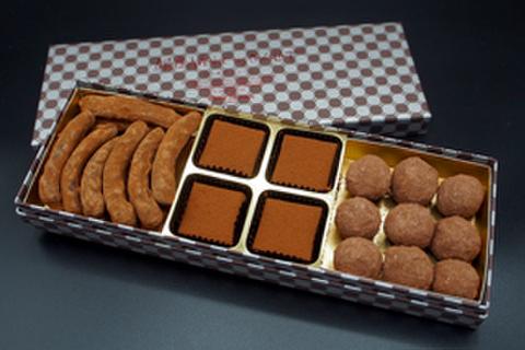 チョコレート3種詰め合わせ