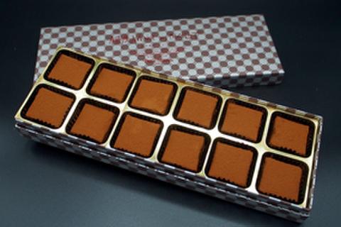 生チョコレート12個入り