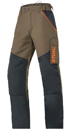草刈機用防護ズボン
