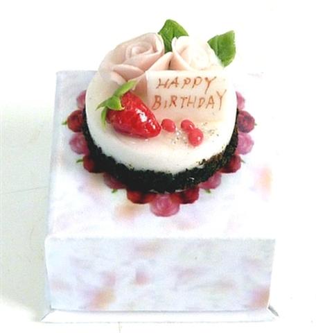 ① バースデーケーキ 箱付き