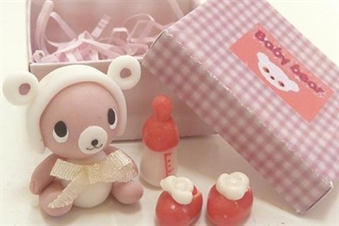 baby bear box ホワイトリボン