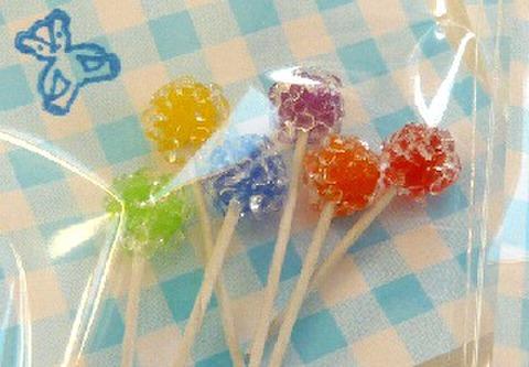 6本入りキャンディー