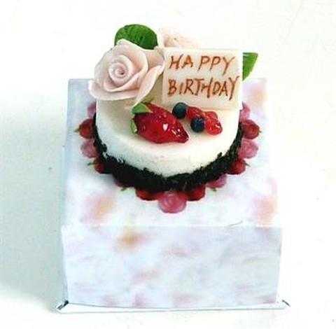 ② バースデーケーキ 箱付き