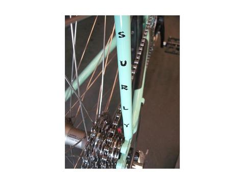 "SURLY ""SEAT STAY LOGO DECAL"""