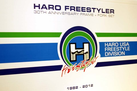 "HARO 30周年記念モデル ""30YEAR FREE STYLER"""