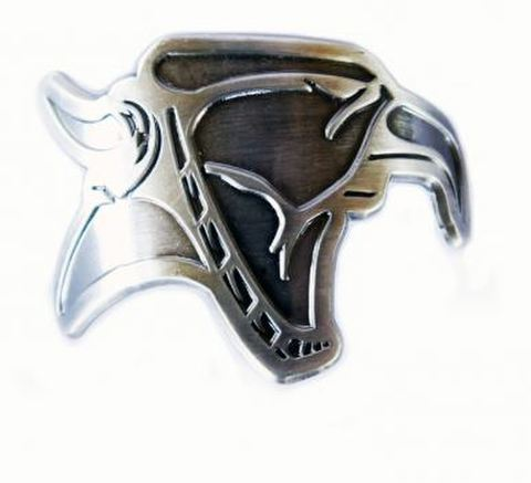 ANIMAL GRIFFIN HEAD BADGE