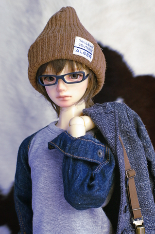SDニット帽 / キャメル